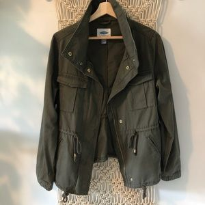 NWT Old Navy Field Jacket Military Green